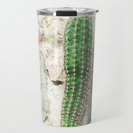 Courtyard Cactus Travel Mug