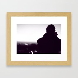 Look at the Horizon Framed Art Print