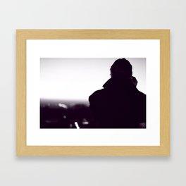 Look at the Horizon Framed Art Print