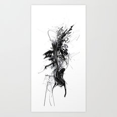 lettracell for ink engine Art Print