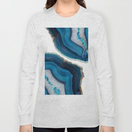 Blue Agate Long Sleeve T-shirt
