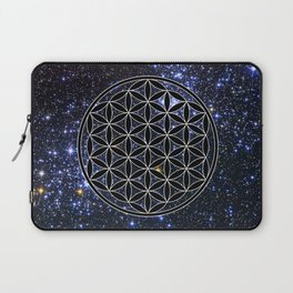 Flower of life in the space Laptop Sleeve