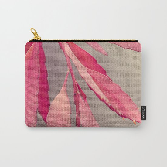 Red Cactus Carry-All Pouch