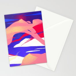 Women Ascending Stationery Cards