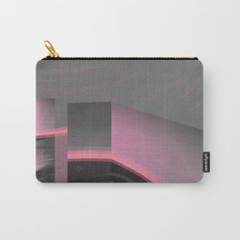 Claraboya, Geodesic Habitacle, Pink neon room Carry-All Pouch