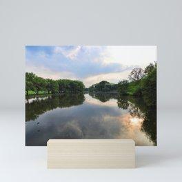 Evening On The Avon River, Stratford, Ontario Mini Art Print