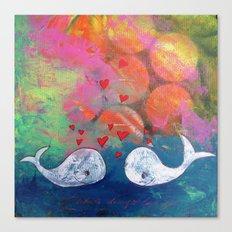 I Whale Always Love You Canvas Print