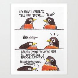 Bird no. 278: HNNH Art Print