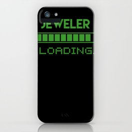Jeweler Loading iPhone Case
