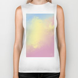 Abstract texture of pastel colors. Biker Tank