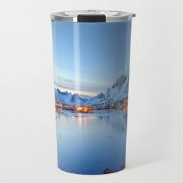 Lofoten islands, Norway Travel Mug