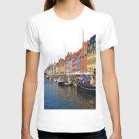 """copenhagen T-shirts featuring New Port """"Copenhagen"""" by Alan Pary"""