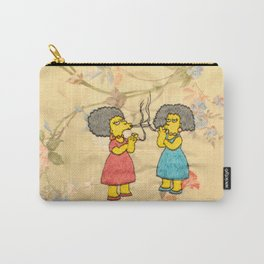 Patty and Selma - The Simpsons  Carry-All Pouch