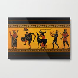 Ancient Greece Painting Metal Print