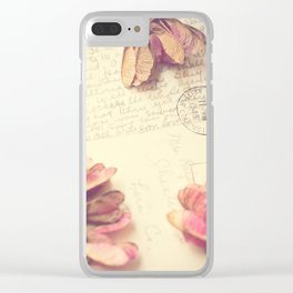 Victoria 1946 - Love Letter Clear iPhone Case