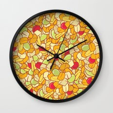 Canned Fruit Salad Wall Clock