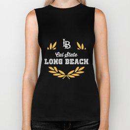 LB cal state long beach cruise t-shirts Biker Tank