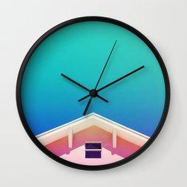 Miami Sky Wall Clock