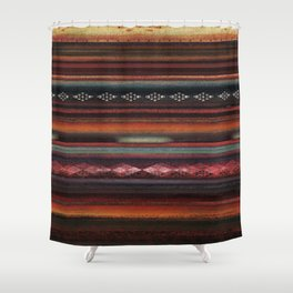 The Travellers Garment Shower Curtain