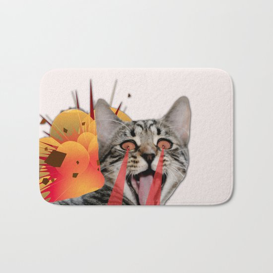 CAT ATTACK! Bath Mat