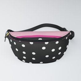 Pink Black Collection Fanny Pack