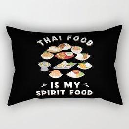 Thai Food Thai Cuisine Rectangular Pillow