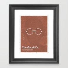 Framework - The Gandhi's Framed Art Print