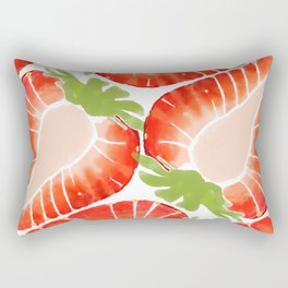 Strawberry Secret Rectangular Pillow