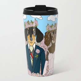Dachshund Lovers - Honeymoon Travel Mug