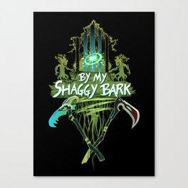 By My Shaggy Bark! Canvas Print
