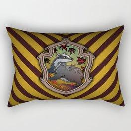 Hogwarts House Crest - Hufflepuff Rectangular Pillow