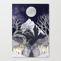 guardians Canvas Prints featuring Guardians by Yoly B. / Faythsrequiem