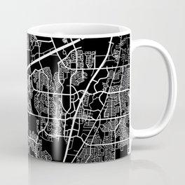 plano map texas Coffee Mug