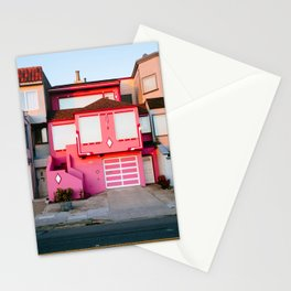 Pink House // San Francisco Stationery Cards