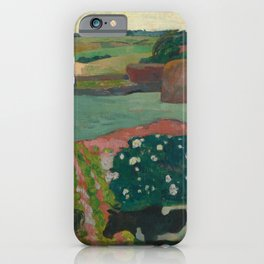 Haystacks in Brittany iPhone Case