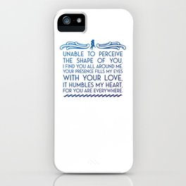 The Shape of Water iPhone Case
