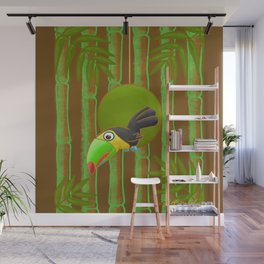 Inquisitive Toucan! Wall Mural