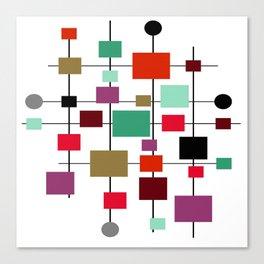 Mid-Century Modern Art 1.3.4 Canvas Print