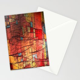 COLOR LINES Stationery Cards