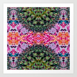 Killer Cacti - Exploring Nature's Patterns Art Print