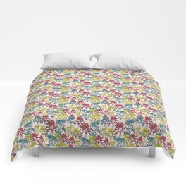 Colorful Poppies Comforters