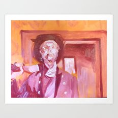 That Cigar Would Be the Death of Him Art Print
