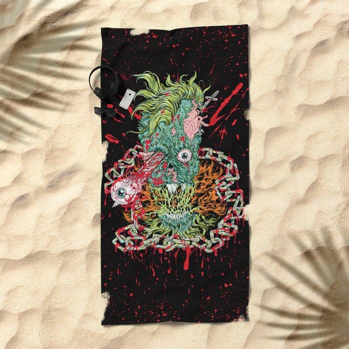 Dead Chains Beach Towel