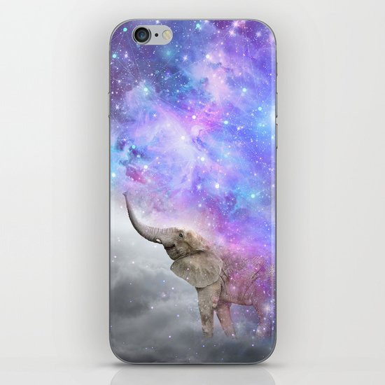 Don't Be Afraid To Dream Big • (Elephant-Size Dreams) iPhone & iPod Skin