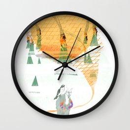 Beach House - Norway Wall Clock