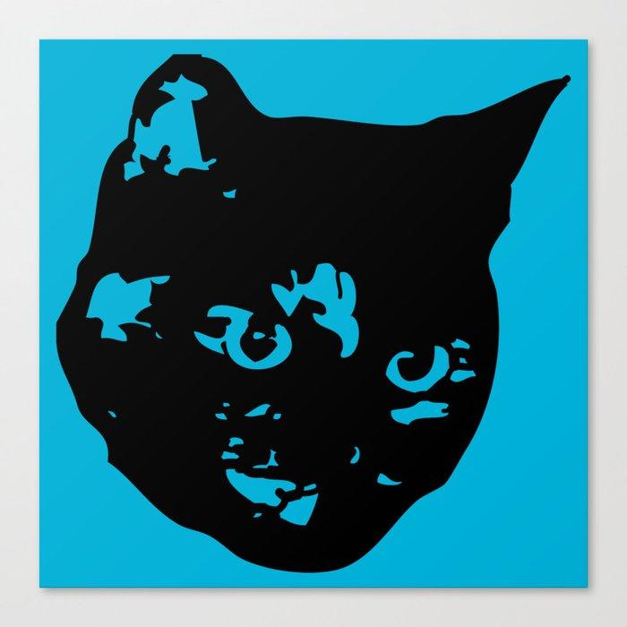 Tortoiseshell Kitty Canvas Print