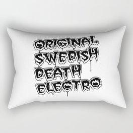 Original Swedish Death Electro #2 Rectangular Pillow