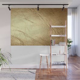 GolD & wHiTe Wall Mural