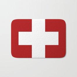 Swiss Cross Bath Mat