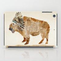 buffalo iPad Cases featuring buffalo by bri.buckley